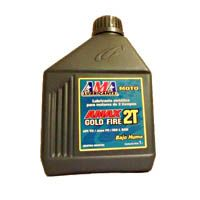 AMA Racing Oils - AMAX Gold Fire 2 T - 100 % Sintetico - 1 L
